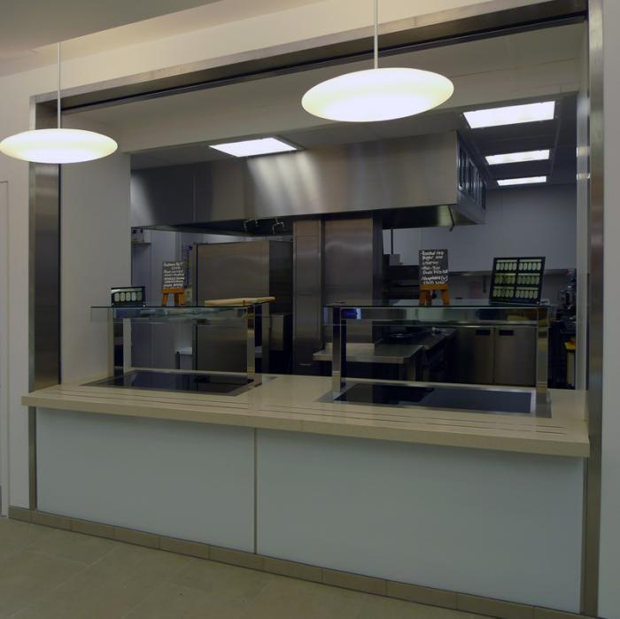 Victor manufacturing ltd custom counters business for Food bar manufacturers uk