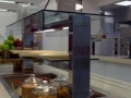 Flat Glass food servery gantry