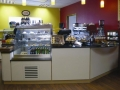 Coffee Bar with Optimax Refrigerated Patisserie Display