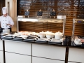 Hotel food servery counter