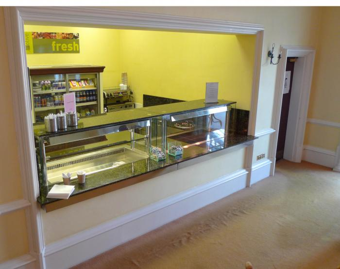 Granite Topped Counter Servery
