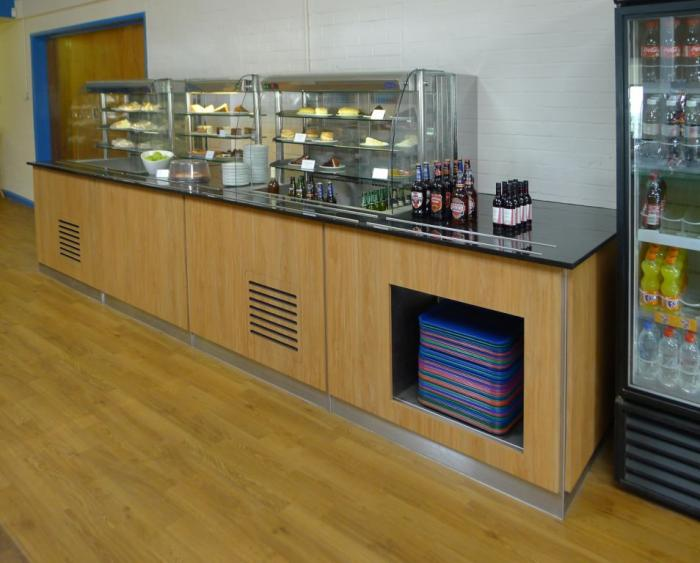 Shuttleworth servery counter