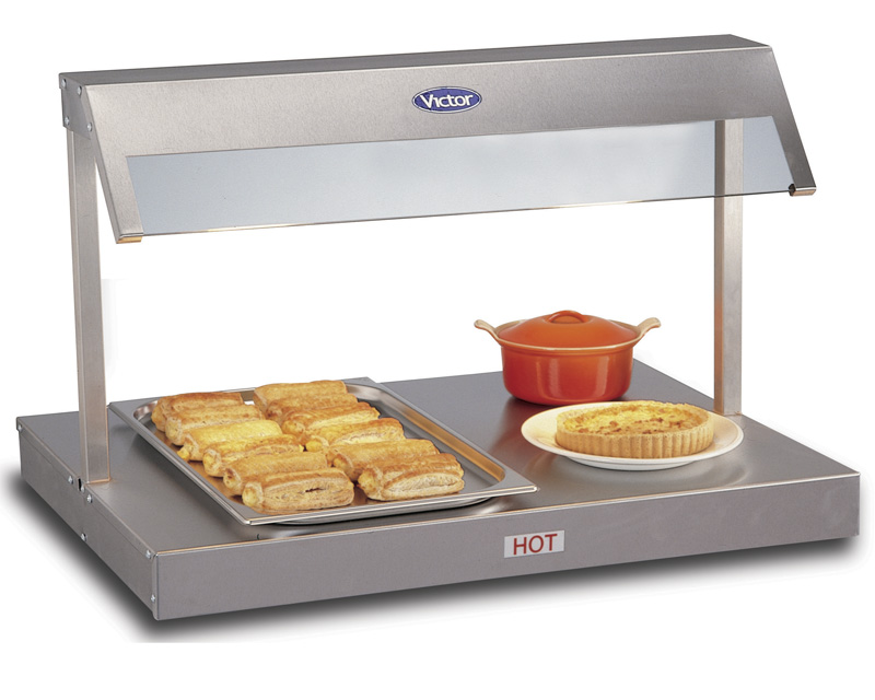 Victor HDU20Z 2 x GN1/1 Heated Base with Quartz Lamp